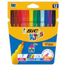 BIC Kids Visa Felt Pens Assorted   medium