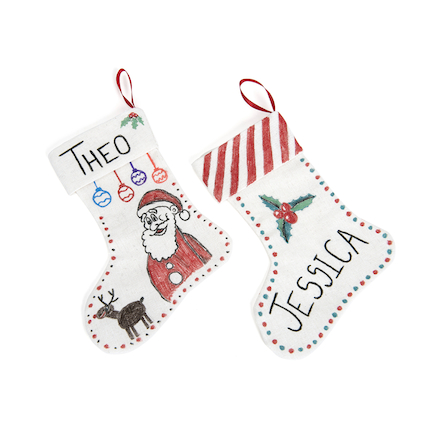 Design your own Canvas Stocking 12pk  large