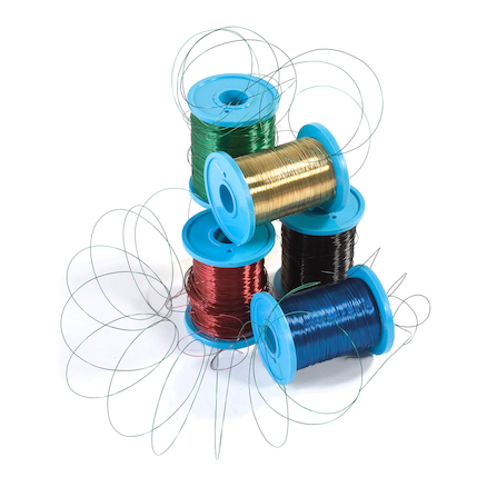 Metallic Coloured Knitting Wire 5pk  large