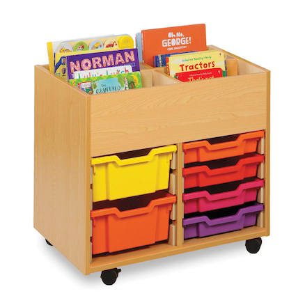 4 Bay Kinderbox with Trays  large