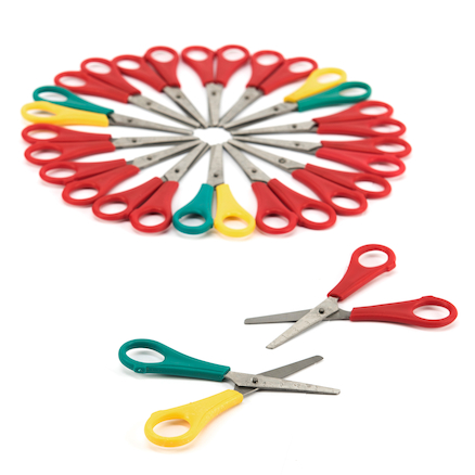 Ruler School Scissors 96pk  large