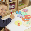 Colourful Maths Number Wheels  small