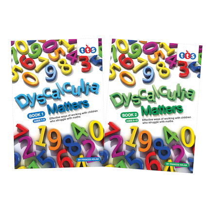 Dyscalculia Matters Activity Books  large