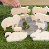 Parent and Baby Wooden Animal Puzzles  small
