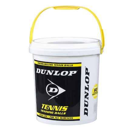 Dunlop Trainer Bucket of Tennis Balls  large