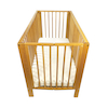 Wooden Folding Cot and Mattress  small