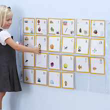 Phonics Pocket Wall Chart  medium