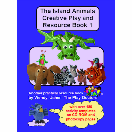 Inclusion Teaching Island Animal Book Set 3pk  large