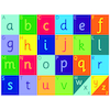 Rainbow Alphabet Mat L2 x W1.5m  small