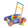 Wooden Baby Walker with 24 Blocks  small