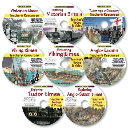 British History CD Collection 8pk  large