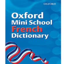 Oxford Mini School French Dictionary  medium
