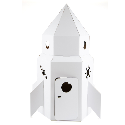 Kid\-Eco Rocket \- White  large