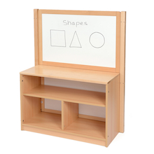 Room Scene Open Bookcase With Divider  medium