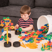 Octoplay Interlocking Construction Set 300pcs  medium