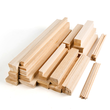 Assorted Balsa Wood 170pk  medium