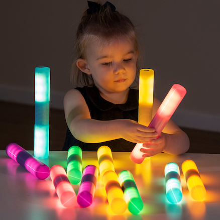 Light Up Glow Cylinders  large
