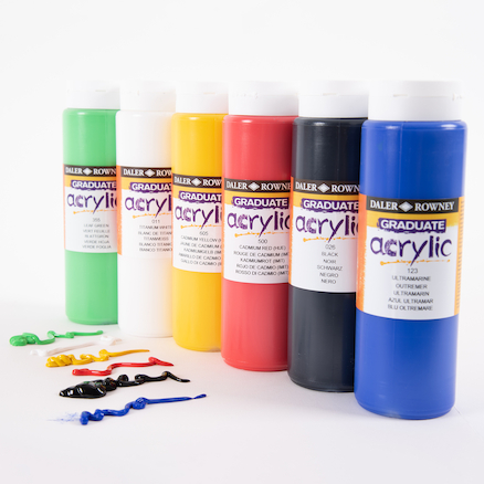 Daler Rowney Acrylic Paint 500ml  large