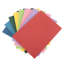 A4 80 page Exercise Books 50 pack  medium