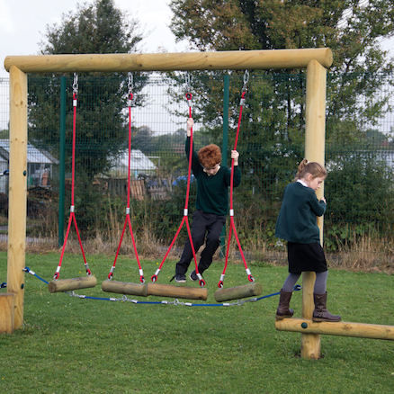 Jungle Swing Fixed Agility Climbing Trail  large
