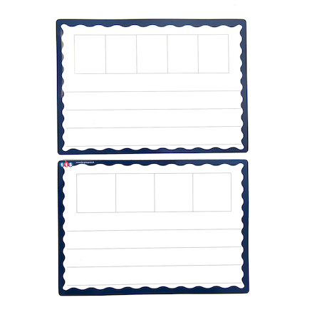 A4 Magnetic Phoneme Frame Whiteboards   large