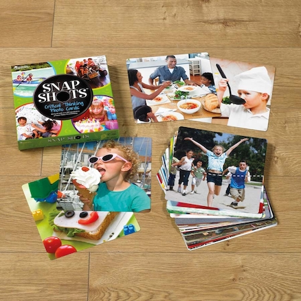 Critical Thinking Photo Cards  large
