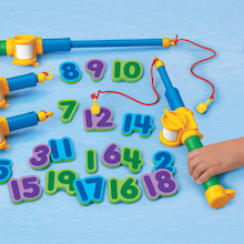 Magnetic Numbers Foam Fishing Set 1-20  medium