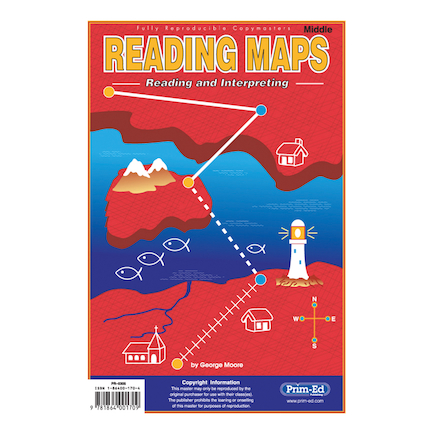 Developing Map Reading Skills Pupil Books  large