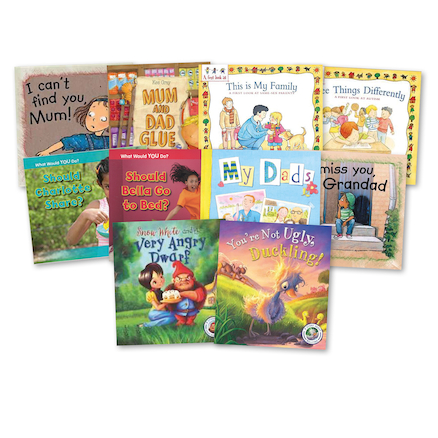 KS2 Real Life Issues Books 10pk  large