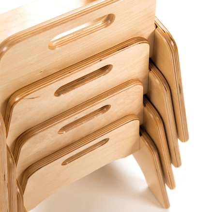 Toddler Wooden Chair  large