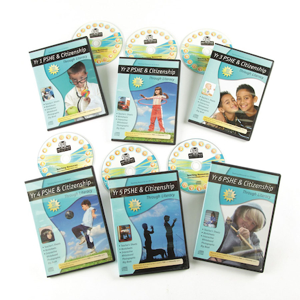 Years 1 to 6 Citizenship Through Literacy CDs 6pk  large