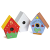 Papier Mache Birdhouse Set  small