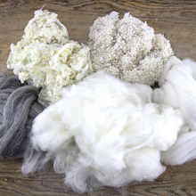 Bag of Natural Wool 250g  medium