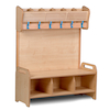Playscapes Freestanding Cloakroom Unit  small