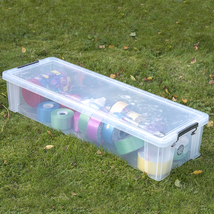 Clear Plastic Paper Roll Box  large