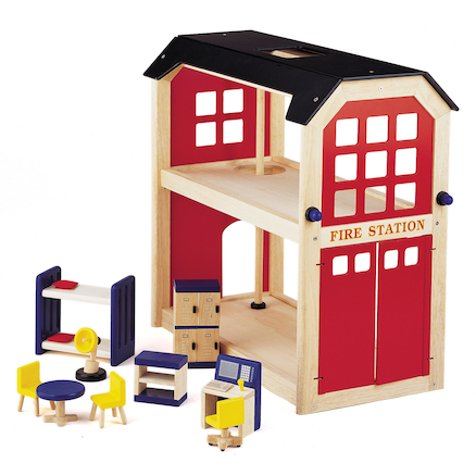 Small World Fire Station and Accessories Offer  large
