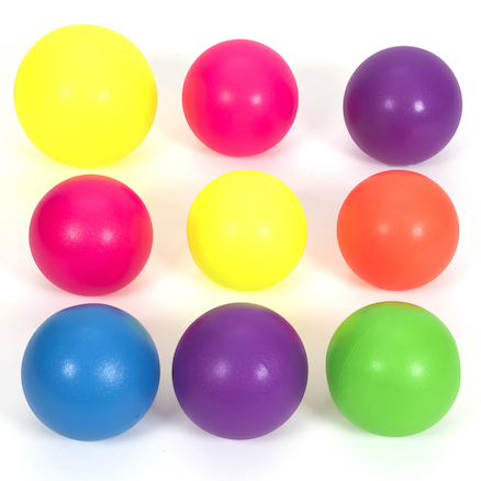 Foam Dodgeball Kit with Bag 9 Balls  large