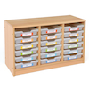 Room Scenes Tray Storage Units with Clear Trays  small