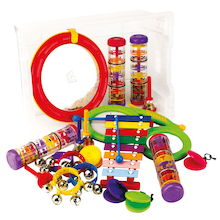 Music Percussion Instruments Class Set 19pk  medium