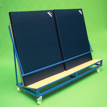 Inclined Gym Mat Trolley  medium