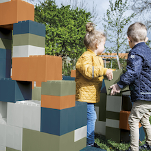 Giant Outdoor Bio Plastic Building Blocks 26pk  medium