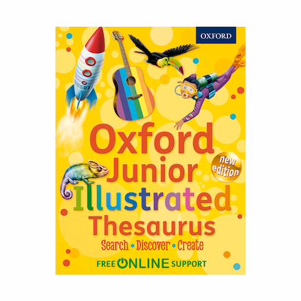 Oxford Junior Illustrated Thesaurus  large