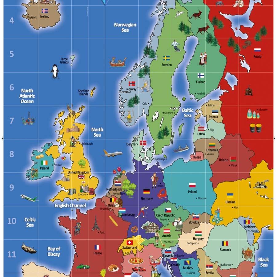 Buy European Bee Bot Map Tts