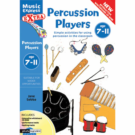Percussion Players Book and CD Rom  large