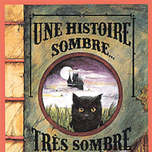 Une Histoire Sombre French Story Book  medium