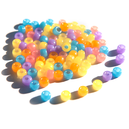 UV Detecting Colour Changing Beads  large