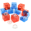 Acrylic Open Up Construction Cubes and Spheres  small