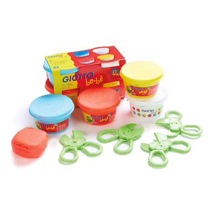 Giotto Bebe Modelling Dough and Tools Pack  large