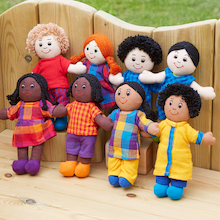 Mini Children of Our Community Dolls  medium
