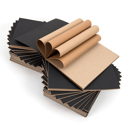 Black Cover, Craft Paper A4 40pk  large